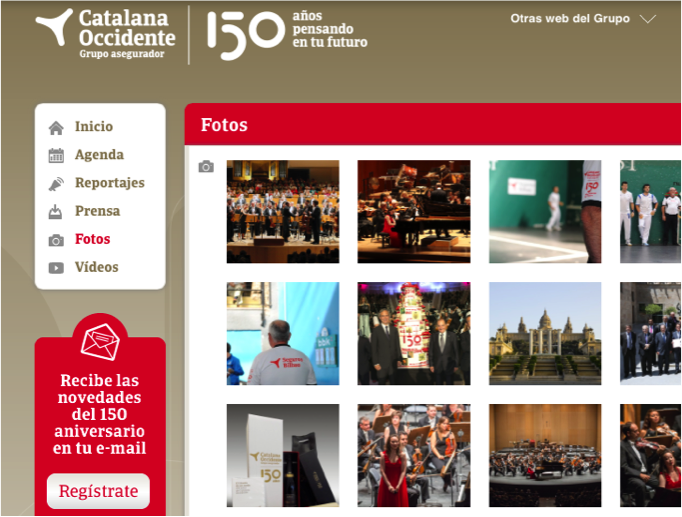 150 aniversario Grupo Catalana Occidente